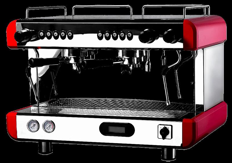 máquina de café de dos grupos